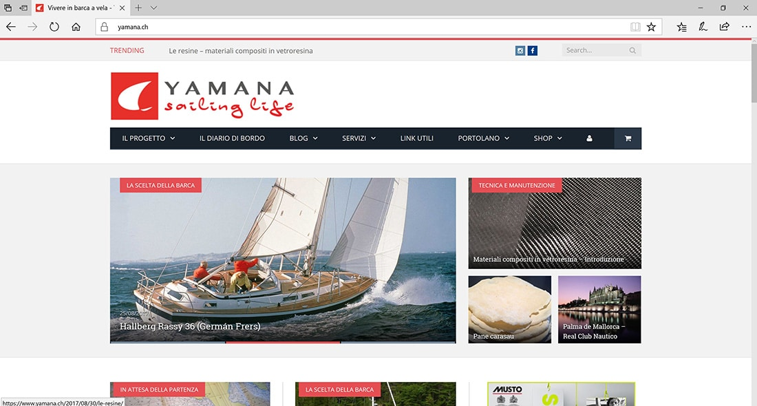 Yamana Sailing Life blog